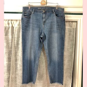 Two Toned Denim Jeans
